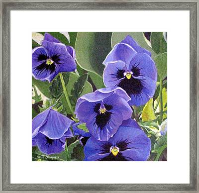 Framed Print featuring the painting Salute To The Day by Margit Sampogna