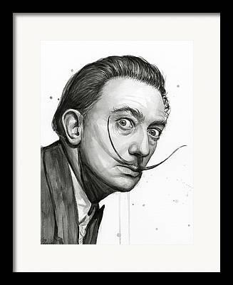 Portrait Painter Framed Prints