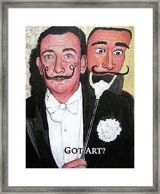 Salvador Dali Framed Print by Tom Roderick