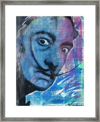 Salvador Dali Framed Print by Venus
