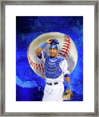 Salvador Perez-kc Royals Framed Print