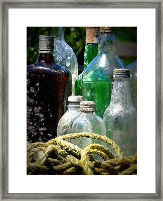 Salvaged From The Sea I Framed Print by Mg Blackstock