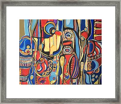 Salvaje # 8 Framed Print
