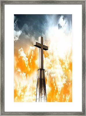 Framed Print featuring the photograph Salvation  by Aaron Berg