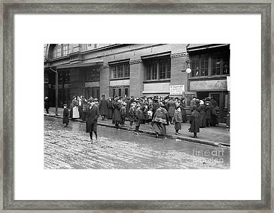 Salvation Army, 1908 Framed Print by Granger