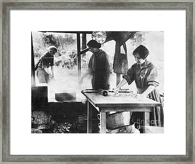 Salvation Army, 1918 Framed Print by Granger