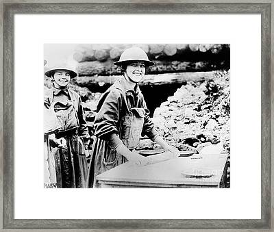 Salvation Army, C1920 Framed Print by Granger