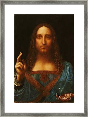 Salvator Mundi Framed Print