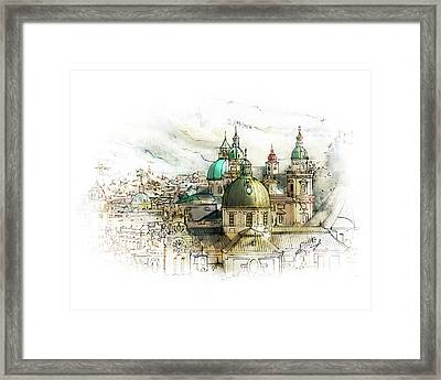 Salzburg Austria Framed Print by James Higgins