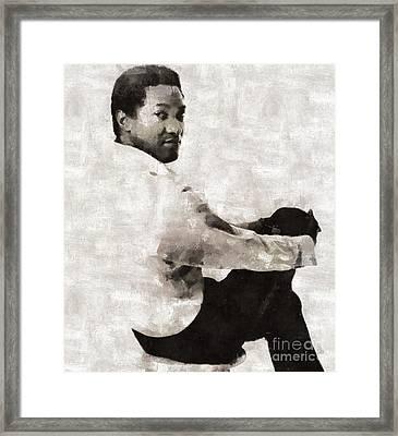 Sam Cooke, Singer Framed Print
