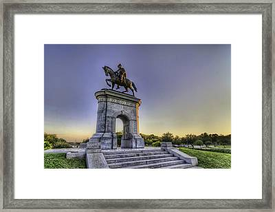 The Original Houstonian Framed Print