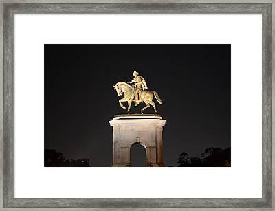 Sam Houston  Framed Print