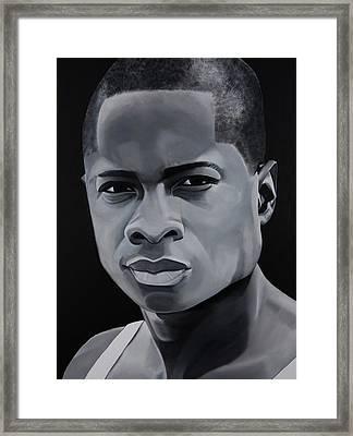 Sam Jones  Framed Print