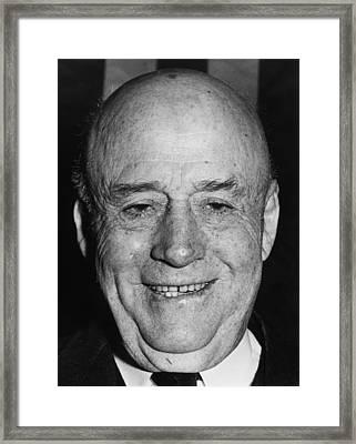 Sam Rayburn 1882-1961, Democratic Framed Print