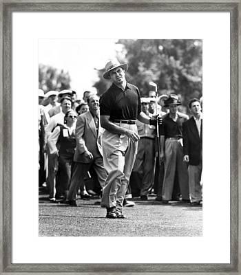 Sam Snead 1912-2002, American Golfer Framed Print by Everett