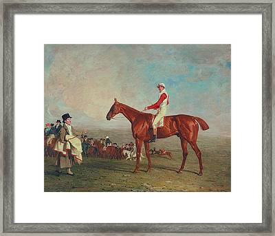 Sam With Sam Chifney Jr. Up Framed Print