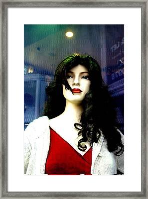 Samantha 2 Framed Print by Jez C Self