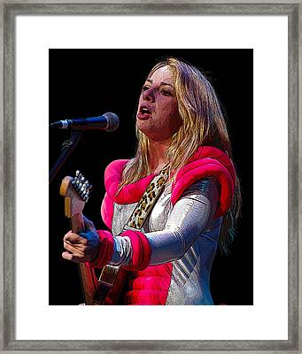 Samantha Fish Framed Print