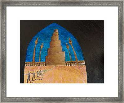 Samarra Framed Print by Julia Collard