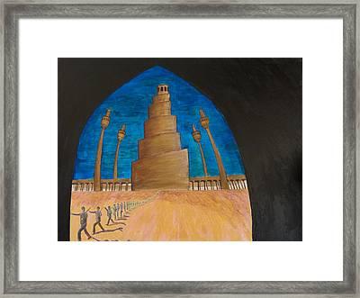 Samarra Framed Print by Julia Collard