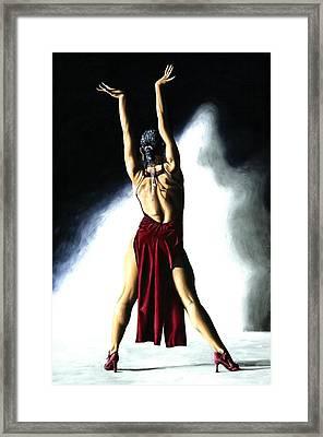 Samba Celebration Framed Print by Richard Young