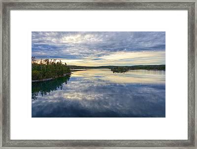 Sambro Basin I Nova Scotia Framed Print by Heather Vopni