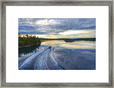 Sambro Basin II Nova Scotia Framed Print by Heather Vopni