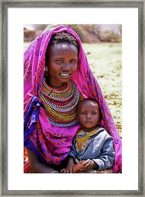Samburu Madonna Framed Print