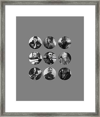 Samcro Framed Print by Bruna Bottin