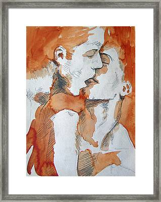 Same Love Framed Print