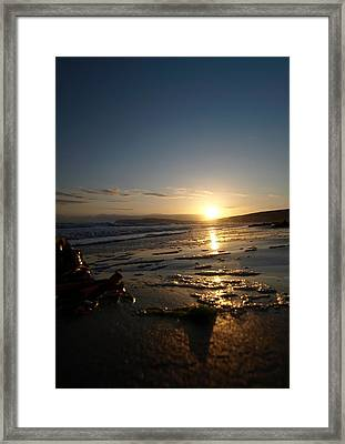 Same Old Moment Framed Print
