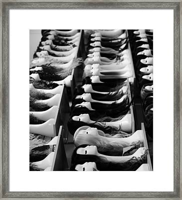 Same Personalities  Framed Print by Empty Wall