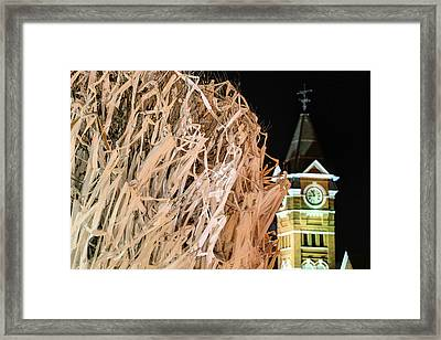 Samford Hall And Rolling Toomer's Framed Print