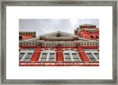 Samford Hall Auburn University  Framed Print by JC Findley
