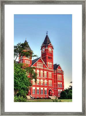 Samford Hall Framed Print by JC Findley