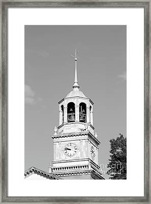 Samford University Library Steeple Framed Print by University Icons