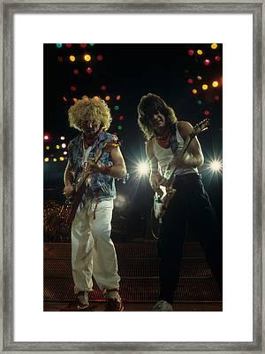 Sammy And Eddie 5150 Framed Print