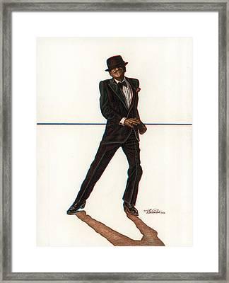 Sammy Framed Print by Buena Johnson