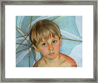 Sammy Framed Print by Gail Zavala