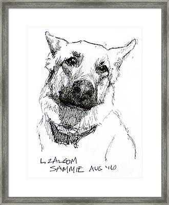 Sammy Framed Print