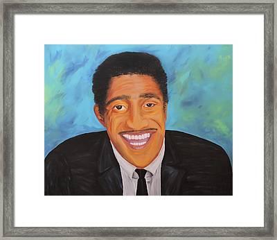 Sammy Smiles Framed Print