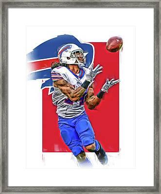 Sammy Watkins Buffalo Bills Oil Art Framed Print