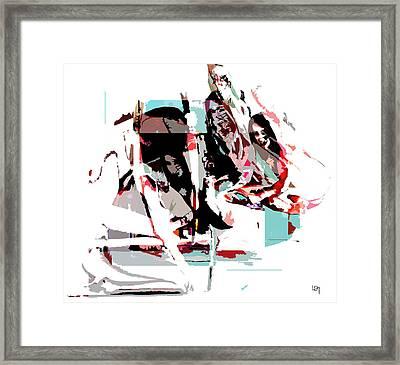 Samourai Framed Print