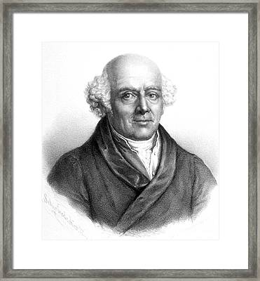 Samuel Hahnemann, German Physician Framed Print by Science Source