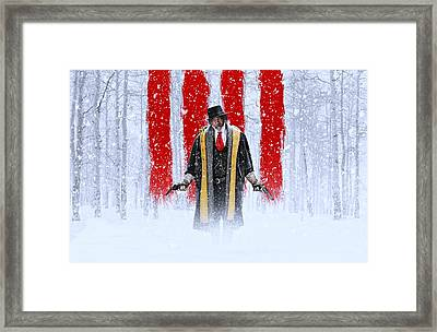 Samuel L Jackson The Hateful Eight Framed Print by Movie Poster Prints