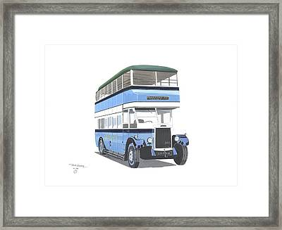 Samuel Ledgard  Leyland Framed Print by John Kinsley