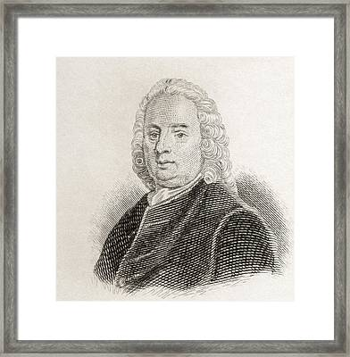 Samuel Richardson, 1689 To 1761 Framed Print by Vintage Design Pics
