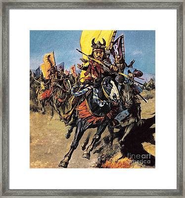 Samurai  Framed Print by English School