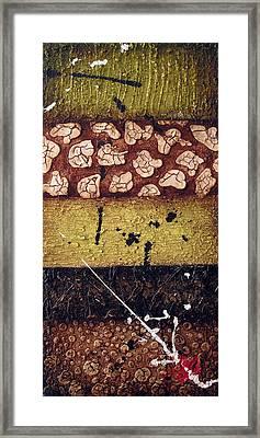 Samurai Framed Print by Jill English