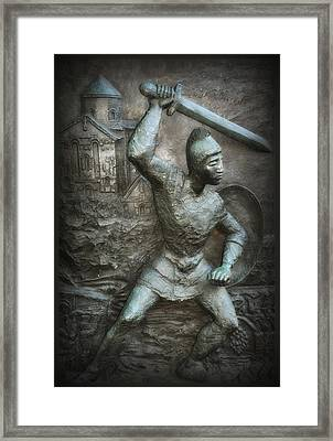 Samurai Warrior Framed Print by Bill Cannon